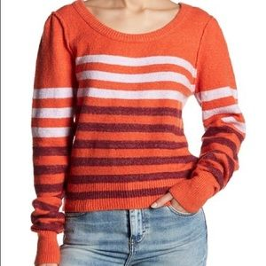 Free People Complete Me Stripe Pullover